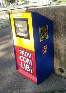 little free library at BIlly Taylor Park