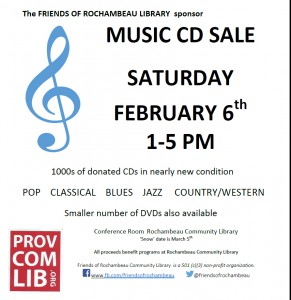 CD Sale in February '16