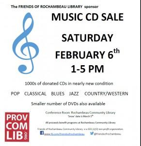 CD Sale in February '16