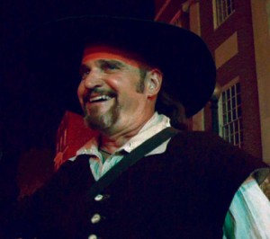 Historian John McNiff Dressed as Roger Williams
